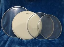 "4 - YAMAHA Batter 188 Drum Head By Reno 16"", 14"" W/COATING, 13"" And 12"" ="