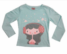 Girls' 100% Cotton Stretch Crew Neck T-Shirts, Top & Shirts (2-16 Years)