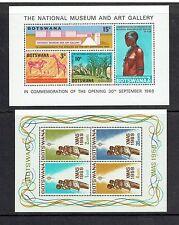 BOTSWANA, 6 SOUVENIR SHEETS, MNH (ID3098)