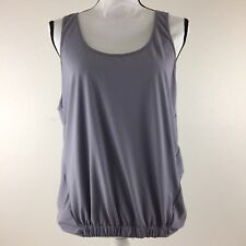 Fabletics Lucia Tank Women's Size Small 6 Purple Twisted Back Tank Top $60  M4