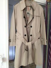 BURBERRY coat Trench Mantel ANNISE 12R US beige Zip Wool Lining NEW NEU 40 42