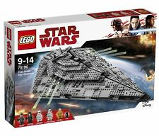 LEGO Star Wars First Order Star Destroyer 2017 75190 - NEW IN SEALED BOX - MINT!