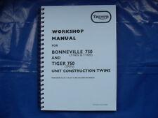 triumph t140v,tr7v, factory workshop manual 99-0983 1973 to 1978-79