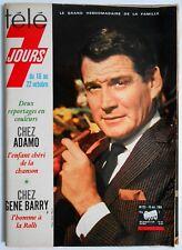 ►TELE 7 JOURS 291/1965  - GENE BARRY - LINE RENAUD - JACQUELINE FRANCOIS - ADAMO