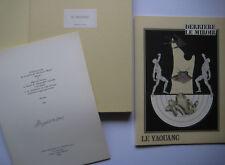 LE YAOUANC ALAIN 6 LITHOS 1970 DERRIERE LE MIROIR DLM N°123/150 SIGNÉ AU CRAYON