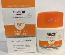 Eucerin Sun Fluid Mattifying for Sensitive Face SPF50 50ml Exp 08/2020 NIB