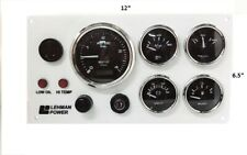 Lehman Power Engine Marine Instrument Panel #Pre Wired USA Made