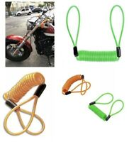 XTRM DISC LOCK REMINDER CABLE FOR MOTORCYCLE MOTORBIKE SCOOTER BIKE USE 3 Colors