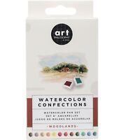 Prima Marketing Watercolor Confections 12 Pan Watercolor Set - Woodlands