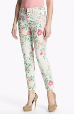 NWT NYDJ Not Your Daughters Jeans MULTI PASTEL ANKLE Floral Denim $120 Size 2P
