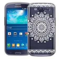 Schutz Hülle Samsung Galaxy S3 Neo Hülle Silikon Handy Tasche Mandala Case Cover