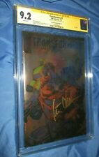 TRANSFORMERS #1 CGC 9.2 IDW Foil Cover SS Signed Peter Cullen OPTIMUS PRIME