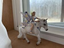 Bayala Olena Fairy Elf On Horse by Schleich Fantasy, 2006. Discontinued And Rare