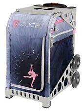 Zuca Bag Ice Dreamz Lux Insert & Gray Frame w/ Flashing Wheels