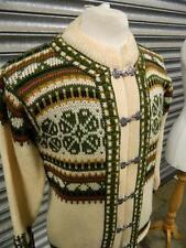 100% Wool 1970s Vintage Jumpers & Cardigans for Men