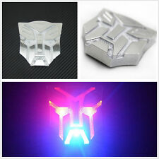 Transformers Autobot Emblem Solar Power LED Flash Strobe Warning Light Sticker