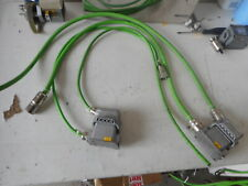 SERVO-DRIVE CABLE SET  -- MOTOR and RESOLVER with QUICK CONNECT HARTING PLUG