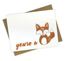 Funny Love Handmade Greeting Card for Anniversary or Thinking of You
