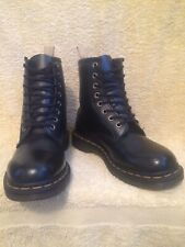 GENUINE DR MARTENS VEGAN 1460 BLACK LEATHER BOOTS EX CON UK 5 EU 38 US7L RRP£140
