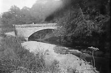1910s KETTLEHOLM BRIDGE 1 Lockerbie Scotland Antique Photographic Glass Negative