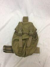 Eagle Industries Khaki SAS Gas Mask Drop Leg Pouch Duty LE SWAT SEALs