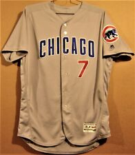 2018 CHICAGO CUBS VICTOR CARATINI #7 Gray ROAD MLB Majestic Size 48 JERSEY