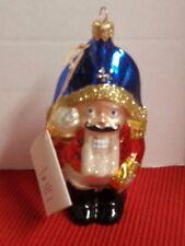 "Kurt S. Adler Polonaise Nutcracker ""Nutcracker"" Ornament Christmas Hand Crafted"
