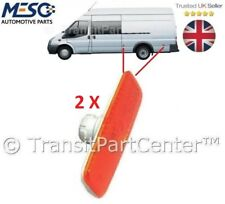 PAIR OF BRAND NEW FORD TRANSIT MK6 2000-2006 JUMBO BODY SIDE MARKER LAMP LIGHT