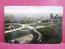 Postcard PA Reading View of Readying from Boulevard 1909
