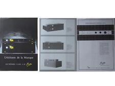 BROCHURE AMPLIFICATEURS BORTOLIN 1985