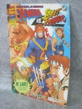 CAPCOM SECRET FILE X-MEN vs. STREET FIGHTER Brochure Art Arcade Ltd Book *