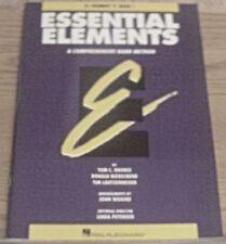 Essential Elements Comprehensive Band Method Bb Trumpet Book 1