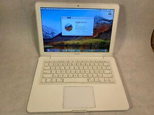 """Apple MacBook 2009 A1342 Unibody - 2.26GHZ 5GB 250GB - 13.3"""" - OSX 10.13 - ZZ"""