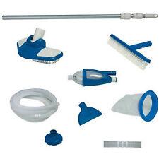 Swimming Pool Cleaning Equipment Kit System Vacuum Skimmer Brush Above Ground