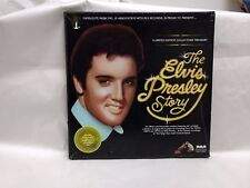 The Elvis Presley Story-5LP Record Box Set Golden Treasury Collector's Ed. lp151