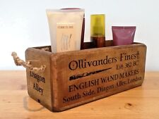 Harry Potter - Ollivanders Diagon Alley Antique style wooden box - crate.