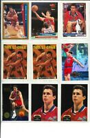 Lot of (24) TOM GUGLIOTTA Basketball Cards w/ Rookie RC - NBA Bullets