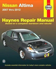 2007-2012 Nissan Altima Haynes Repair Service Workshop Manual Book Guide 0506