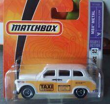 Matchbox 2008 -  Austin FX4 London Taxi [short card]
