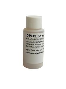 DPD No3 Powder, Total Chlorine, swimming pools, hot tub.