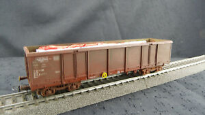 Lima 309067K offenr Güterwagen gealtert DB H0 WK167 Neuwertig OVP