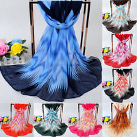 Bohemia Women Fashion Chiffon Scarf Printing Long Soft Scarves Wraps Shawl Stole