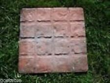 2 concrete paver molds 16 square design reusable moulds