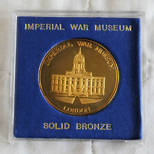 Museo Imperial de Guerra Londres 38mm A Prueba De Bronce Macizo medalla caja cilíndrica