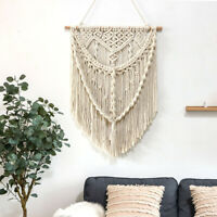 """19"""" x 27"""" Macrame Wall Hanging Woven Tapestry Wall Decor - Boho Home Decoration"""