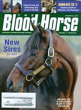 2010 The Blood-Horse Magazine #50: Blame to Stand for $35,000/New Sires