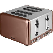 Swan ST14050COPN 4 Slice Toaster Copper New from AO
