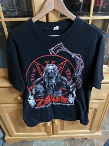 Rob Zombie Shirt Mens Large Double Sided L T Shirt Horror Short Sleeve
