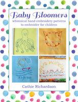 Hand Embroidery Pattern Book Children Kids Alphabet Animals Nursery Baby Decor