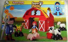 Supermag Super Farm Bauernhof Plastwood 0435 Magnet ab 2 Jahre